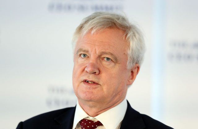 Brexit chief David Davis. (Jonathan Brady/PA)