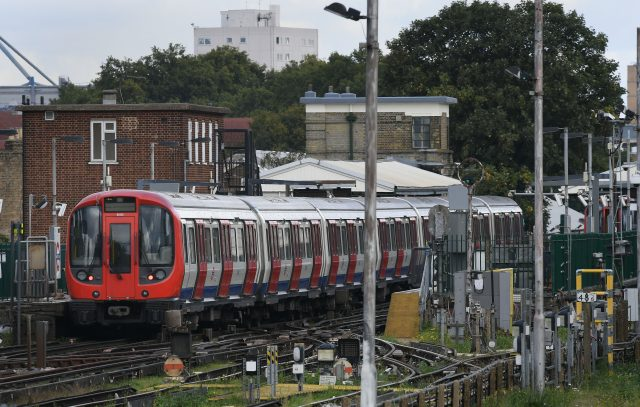 A train at Parsons Green