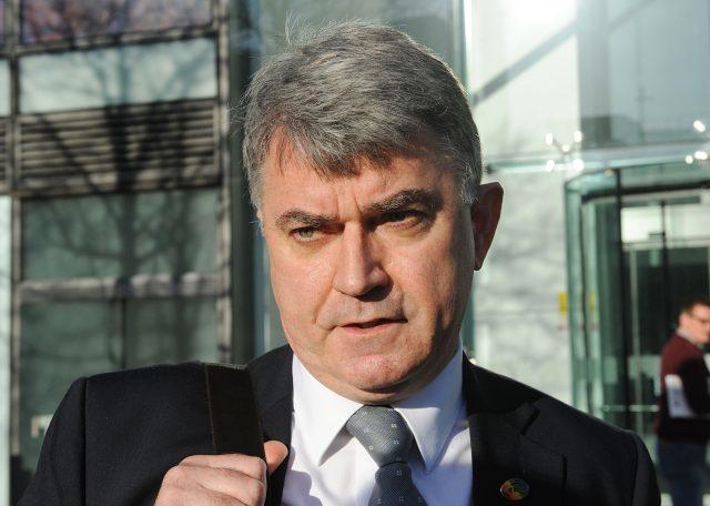 RMT general secretary Mick Cash