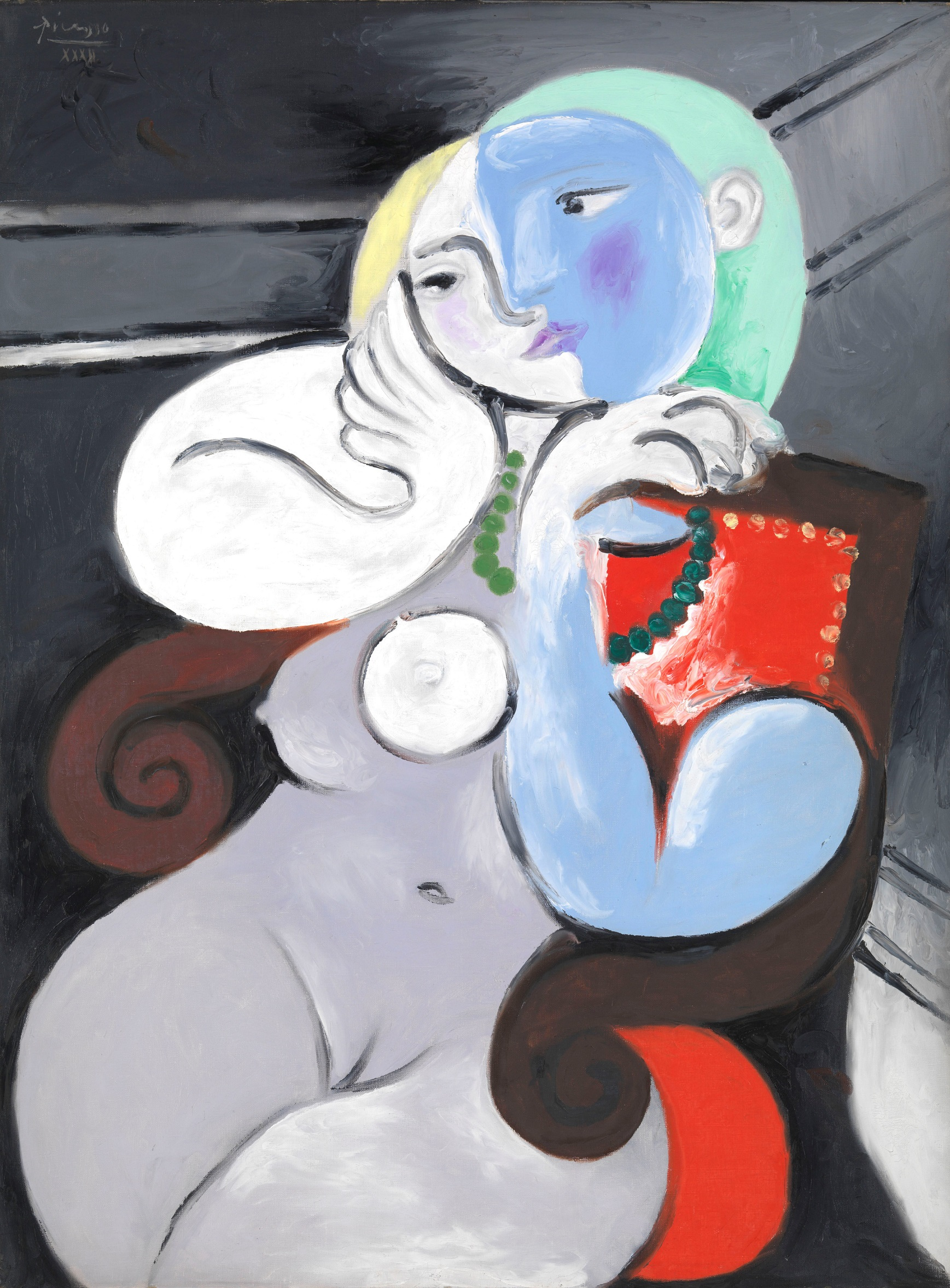 Picasso, Nude Woman in a Red Armchair, 1932 (Tate/Succession Picasso/DACS London, 2017)