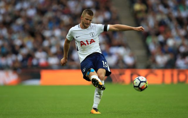 Eric Dier in action for Tottenham
