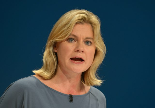Education Secretary Justine Greening  (Ben Birchall/PA)