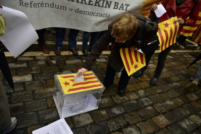 Catalan leader says will proceed with October 1 independence referendum