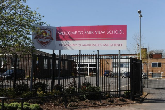 Park View School was among those investigated as part of Operation Trojan Horse. (Joe Giddens/PA)