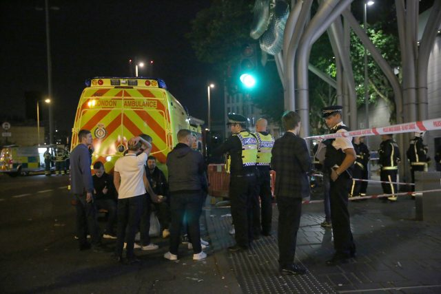 Up to six injured in London 'acid attack'