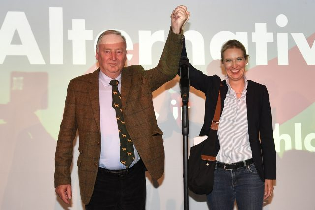Alexander Gauland and Alice Weidel