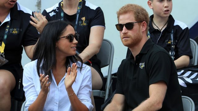 Prince Harry, Meghan Markle step out holding hands at Invictus Games competition