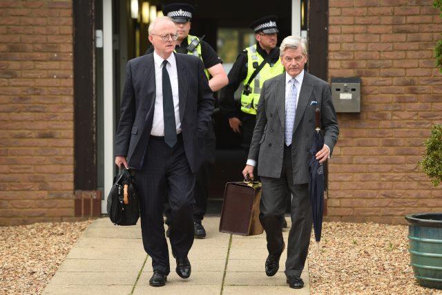 Sir Tom Winsor and Dorian Lovell-Pank