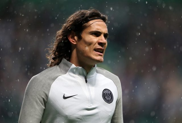 Edinson Cavani could be swapping Paris for Liverpool