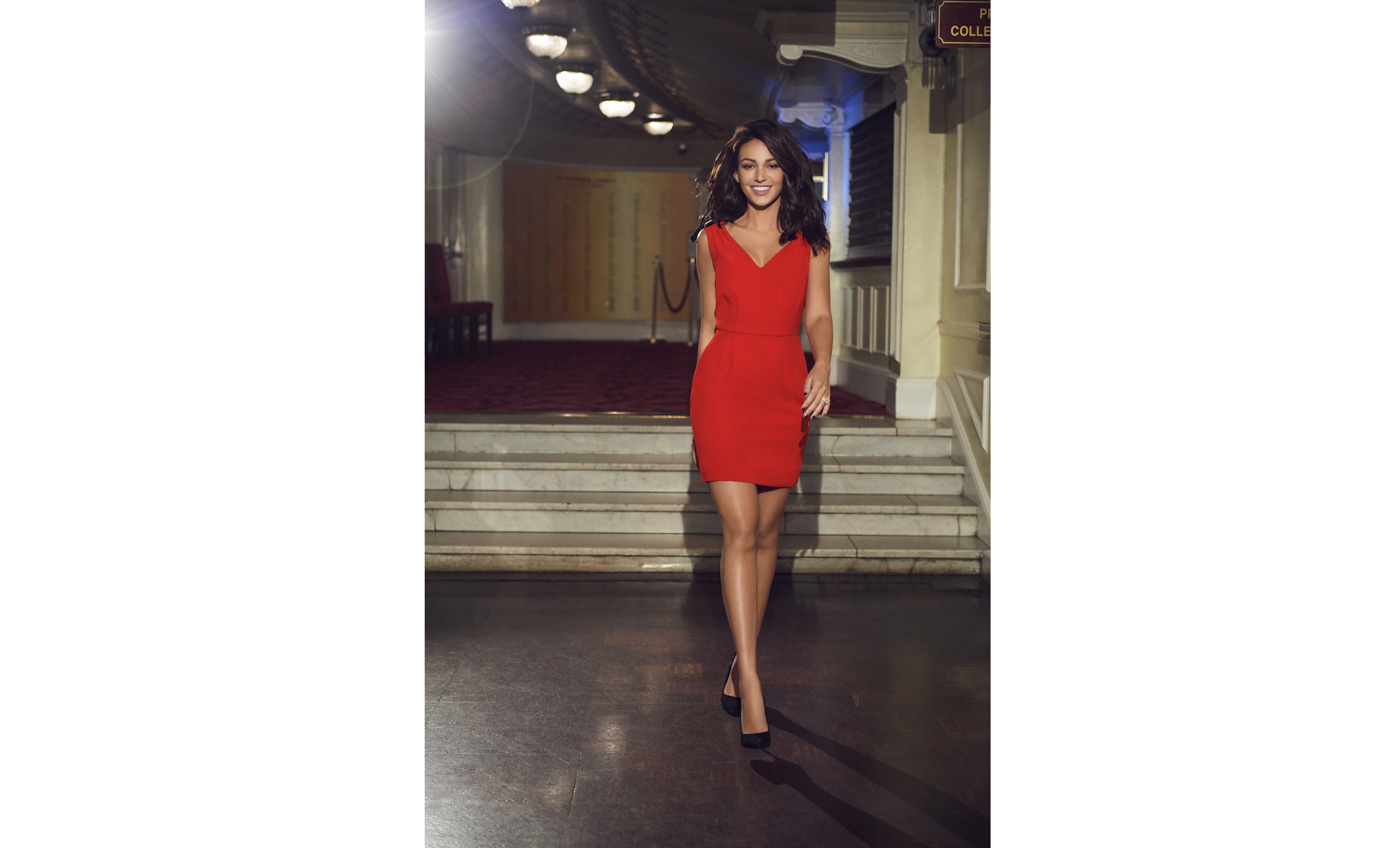 actress michelle keegan wears pieces from her fashion collection for very.co.uk