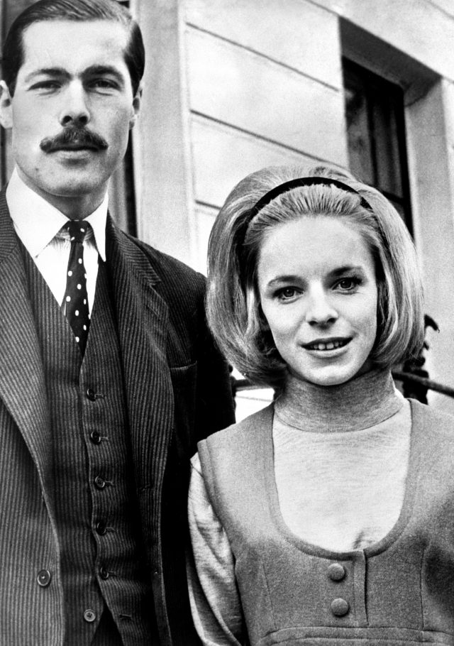Lord Lucan with his wife Lady Lucan