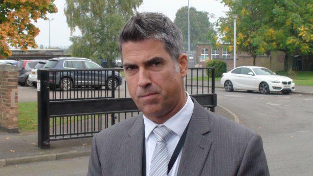 Headteacher Gareth Morris