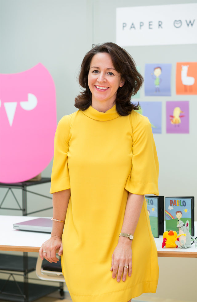 Grainne McGuinness is managing director of Northern Ireland-based Paper Owl Films (Paper Owl/PA)