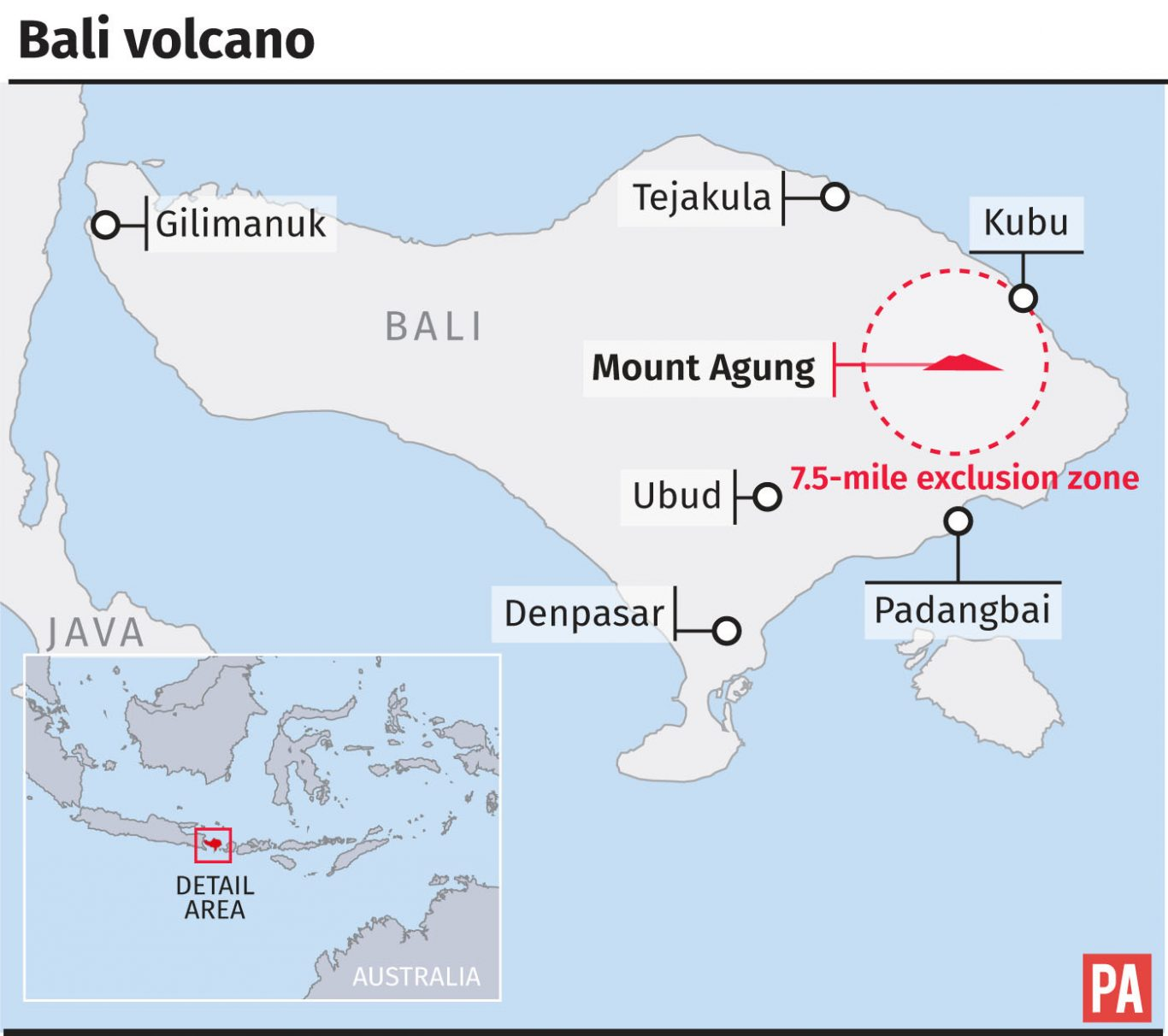 Evacuations from Indonesian volcano approach 50000