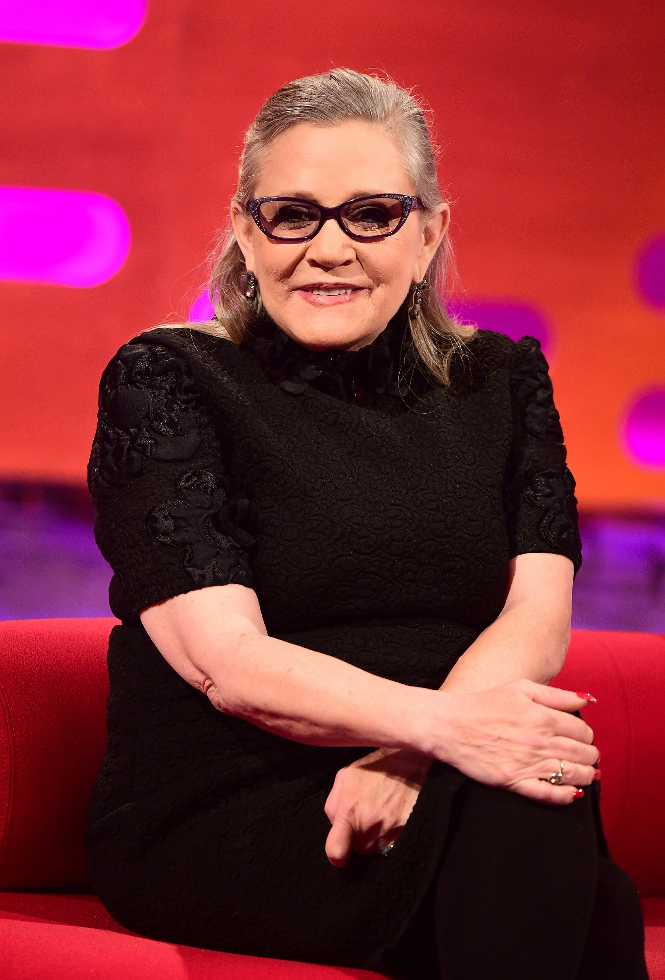 Graham Norton Carrie Fisher Nearly Cancelled Her Final Interview