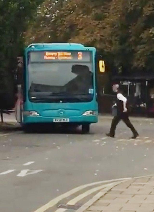 Runaway bus
