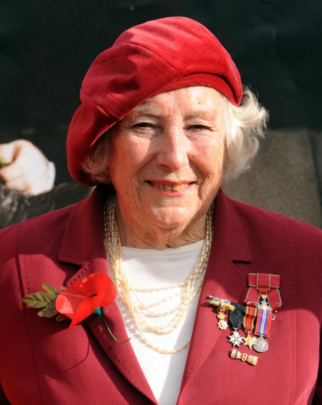 Dame Vera Lynn who famously sang about the White Cliffs of Dover, praised the public for their generosity