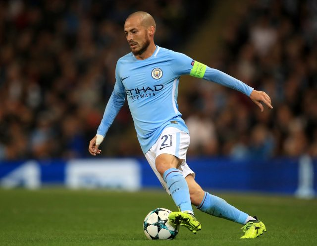 David Silva has been linked with a move to AC Milan (Mike Egerton/Empics)