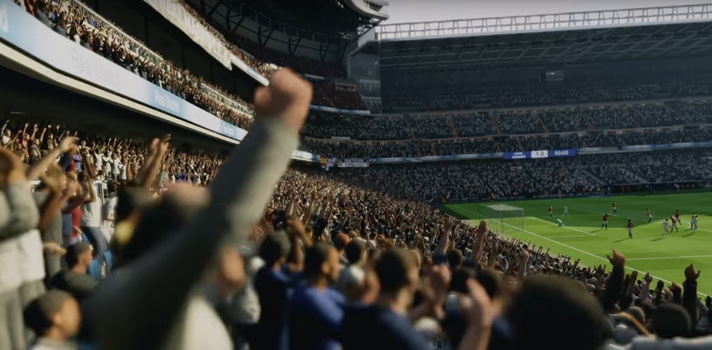 Crowds react in Fifa 18