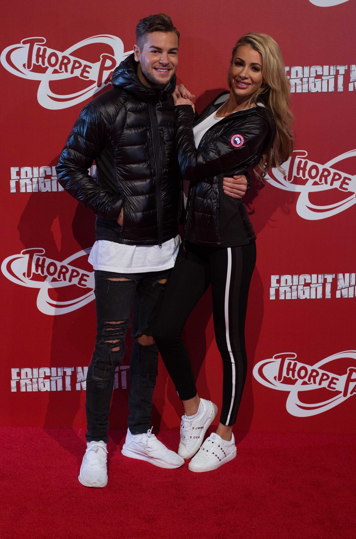Love Island's Chris Hughes and Olivia Attwood