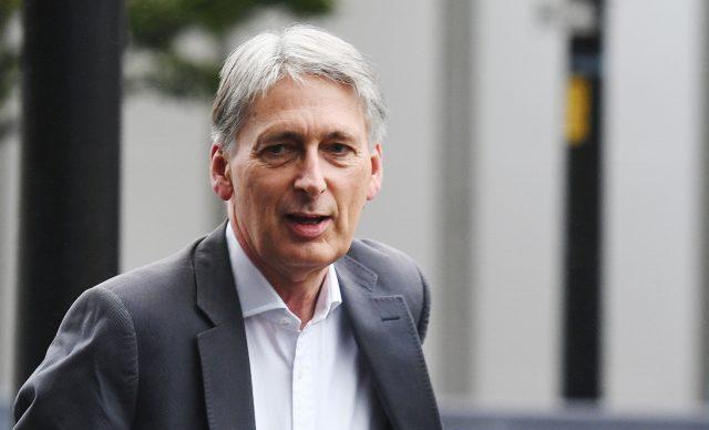 Chancellor Philip Hammond (Stefan Rousseau/PA)