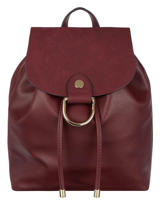 Monsoon Rosa Ring Mini Burgundy Backpack (Monsoon/PA)