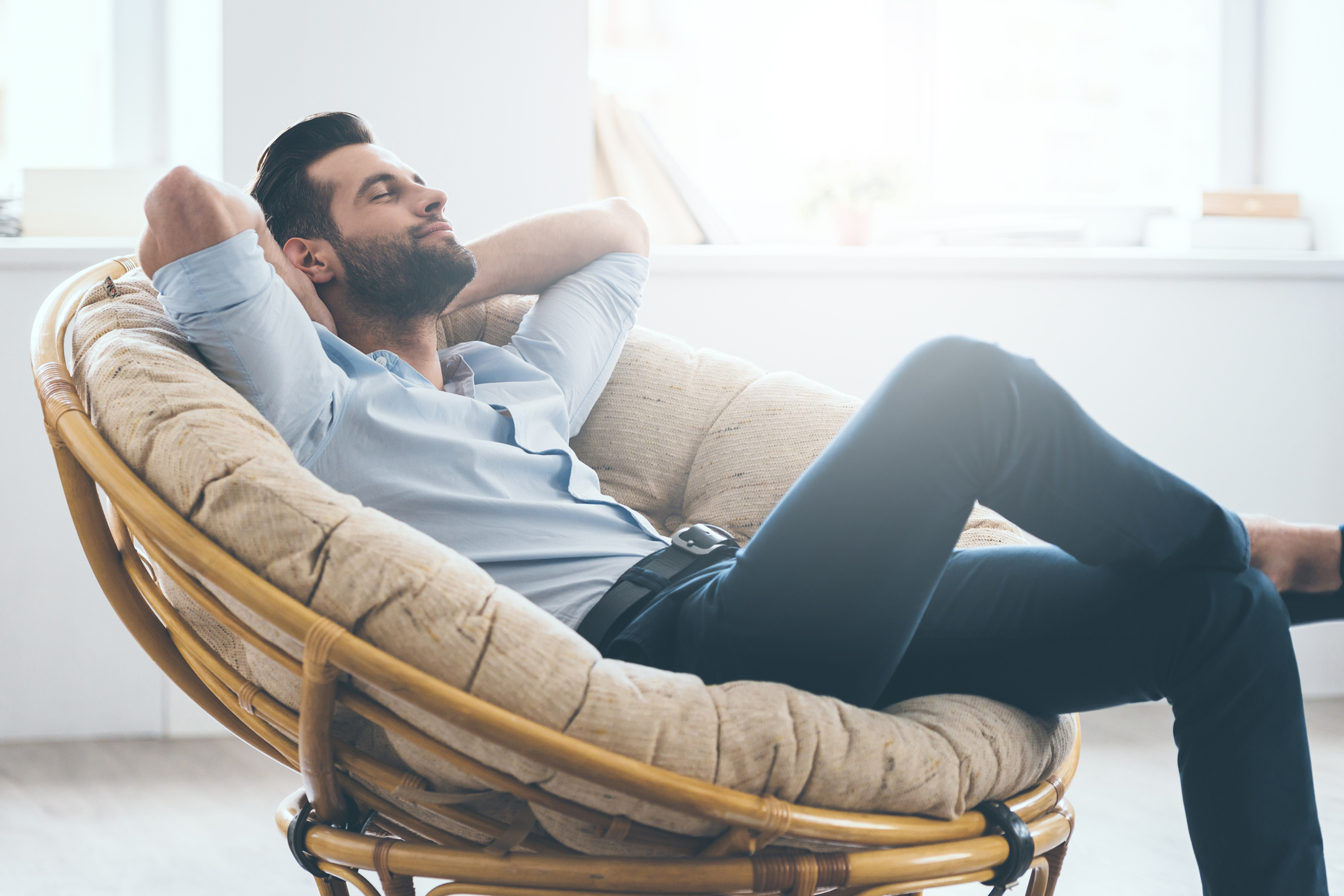 Generic photo of man reclining in a comfy chair (Thinkstock/PA)