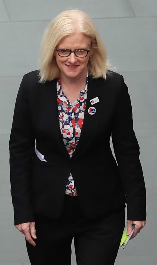 Janet Davies, chief executive of the Royal College of Nursing. (Peter Byrne/PA)