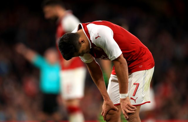 Alexis Sanchez appears set to leave Arsenal