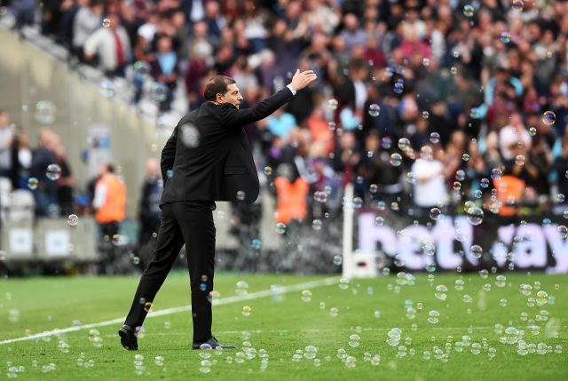 Slaven Bilic has suffered some mixed results this season