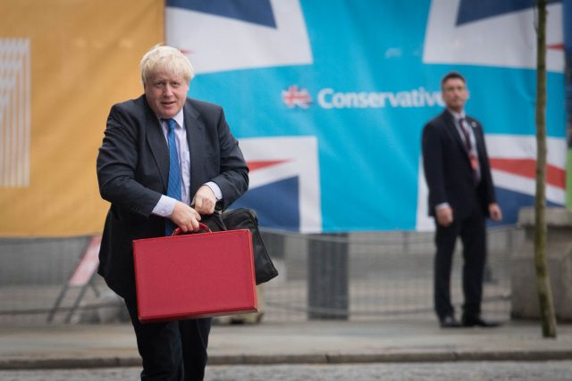 Foreign Secretary Boris Johnson