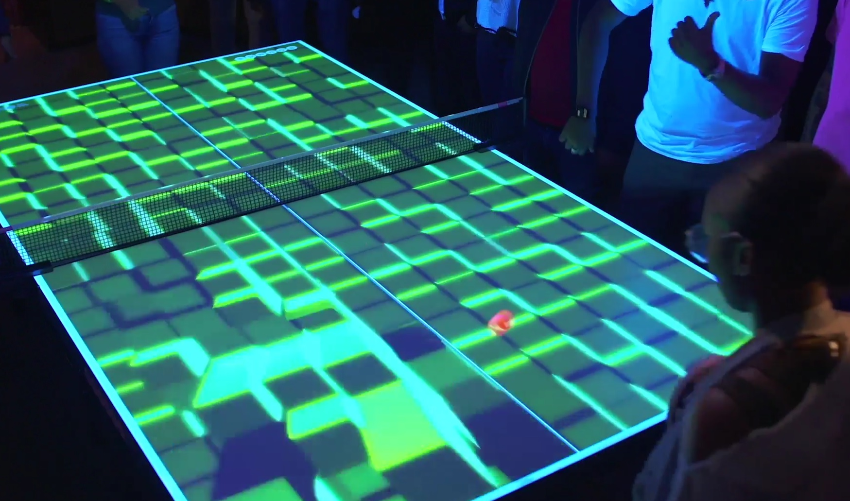 Bounce has launched Wonderball, which uses laser projection mapping and ball-tracking technology
