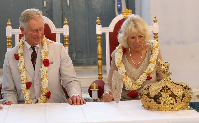 The Prince of Wales and the Duchess of Cornwall during a previous visit to India