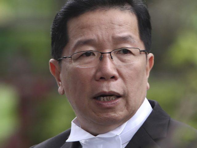Gooi Soon Seng, lawyer for Indonesian suspect Siti Aisyah (Daniel Chan/AP)
