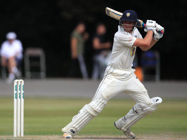 Jack Burnham bats for Durham