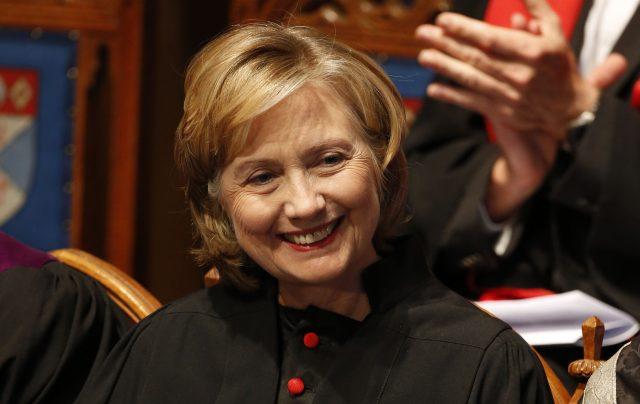 Hillary Clinton (Danny Lawson/PA)