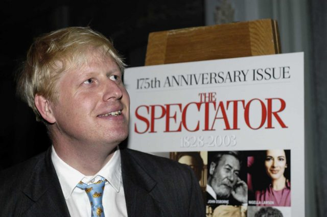 Boris used to be editor of The Spectator (PA)