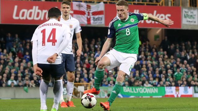 Northern Ireland beat Norway 2-0 at Windsor Park when the two sides met in the World Cup qualifier in March