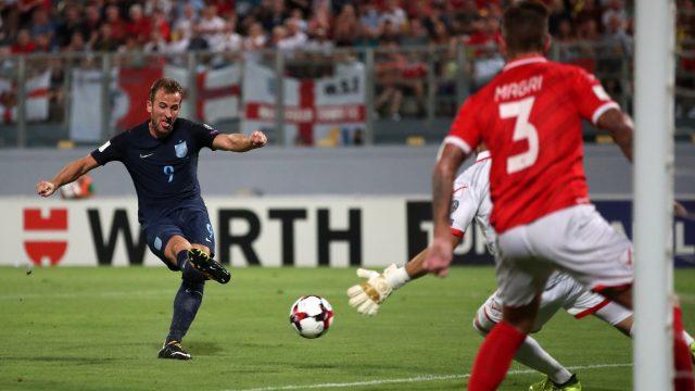 Harry Kane scored twice in England's 4-0 win in Malta