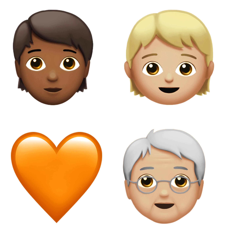 Gender-neutral emojis join mermaid and zombie in Apple's new