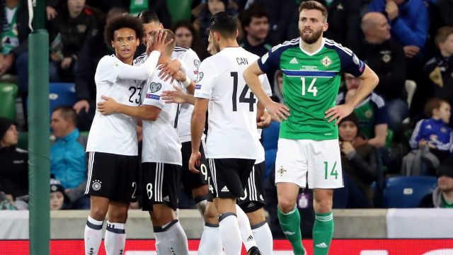 Germany, England seal 2018 World Cup berths