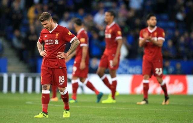 Liverpool are seventh in the Premier League table