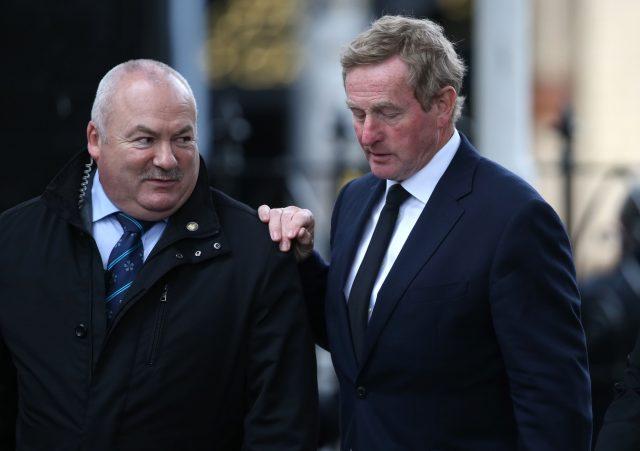 Former taoiseach Enda Kenny. (Niall Carson/PA)