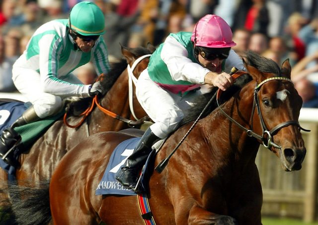 Oasis Dream and Jimmy Fortune win the Middle Park Stakes at Newmarket
