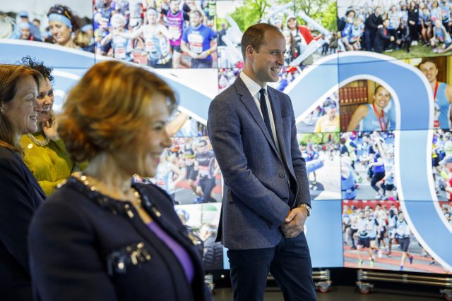 The Duke of Cambridge, during a visit to Imperial College London's Data Observatory