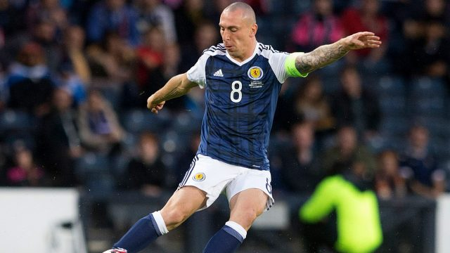 Celtic skipper Scott Brown may consider his international future following Scotland's failure to qualify for next summer's World Cup