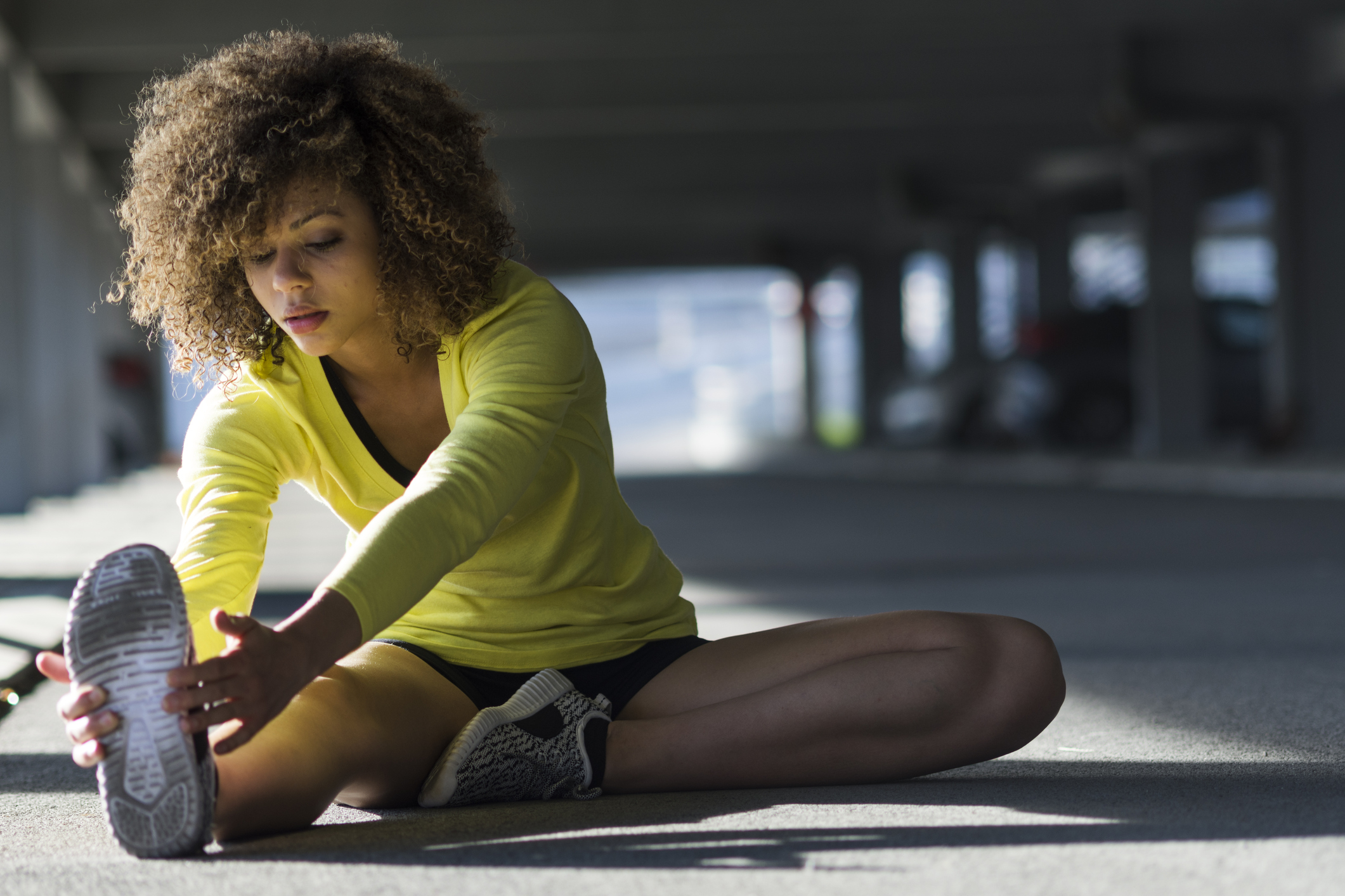 Generic photo of young woman stretching (Thinkstock/PA)