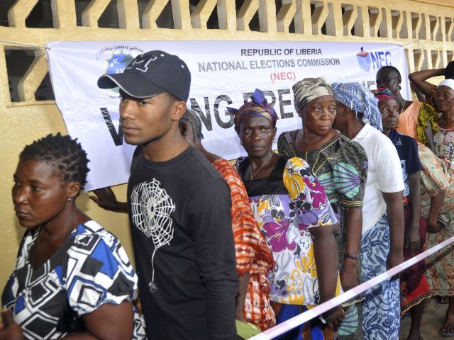 Liberians go to the polls in Monrovia