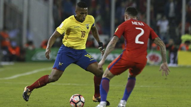 Manchester United's Antonio Valencia missed out on his third World Cup with Ecuador