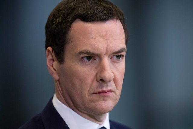 George Osborne was among the targets. (Matt Cardy/PA)